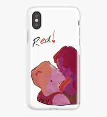 Oh, Red!  iPhone Case/Skin