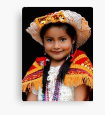 Cuenca Kids 447 Canvas Print