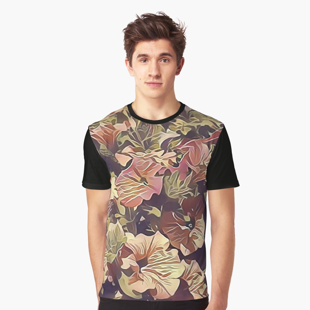 New Flowers, New Hopes Graphic T-Shirt