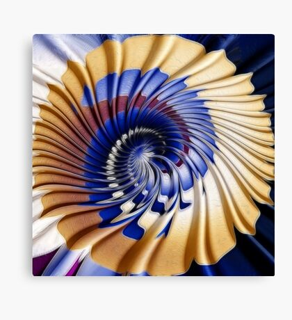Twirling ripples Canvas Print