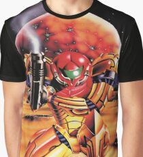 Super Metroid, Remastered From Classic 1994 Vintage Poster Graphic T-Shirt