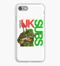 UK SUBS PUNK  iPhone Case/Skin