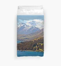 New Zealand Scenery Duvet Cover