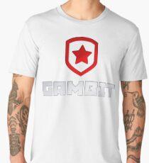 Gambit Gaming (W/ TEXT) Men's Premium T-Shirt