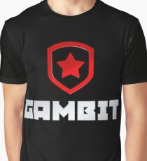 Gambit Gaming (W/ TEXT) Graphic T-Shirt