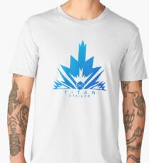 Titan Striker Shooter Gamers MMO Men's Premium T-Shirt