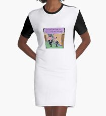 Little People  Graphic T-Shirt Dress