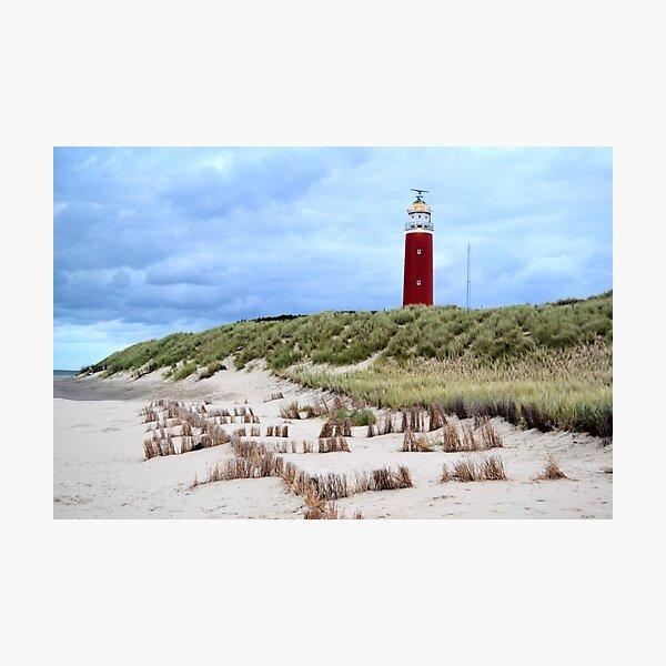 Leuchtturm bei Texel Fotodruck