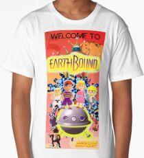 Earthbound Restored Poster Retro-Gaming Art Long T-Shirt