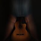 Music at her feet by Jan Clarke