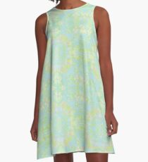 Spring Renaissance A-Line Dress