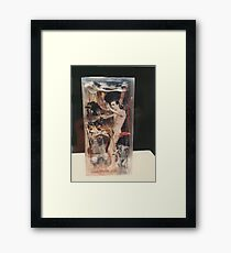 """""""The Collector""""1985 Back Framed Print"""