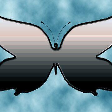 Black Butterfly by carolanngrace