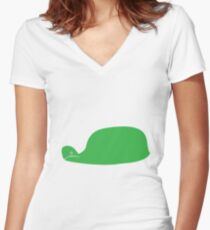 Alberto  Women's Fitted V-Neck T-Shirt