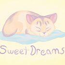 Dreaming Kitten by thekohakudragon