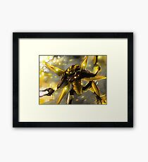 """""""Jetbug"""" from Lego's """"Hero Factory"""" - Digital Painting Framed Print"""