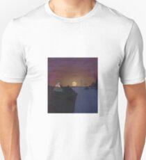 Across the Sea Album Artwork - Cloud Mac T-Shirt