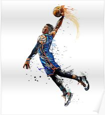 Russell Westbrook - Oklahoma City Thunder Poster