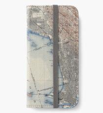 Vintage Map of San Francisco California (1914) iPhone Wallet/Case/Skin