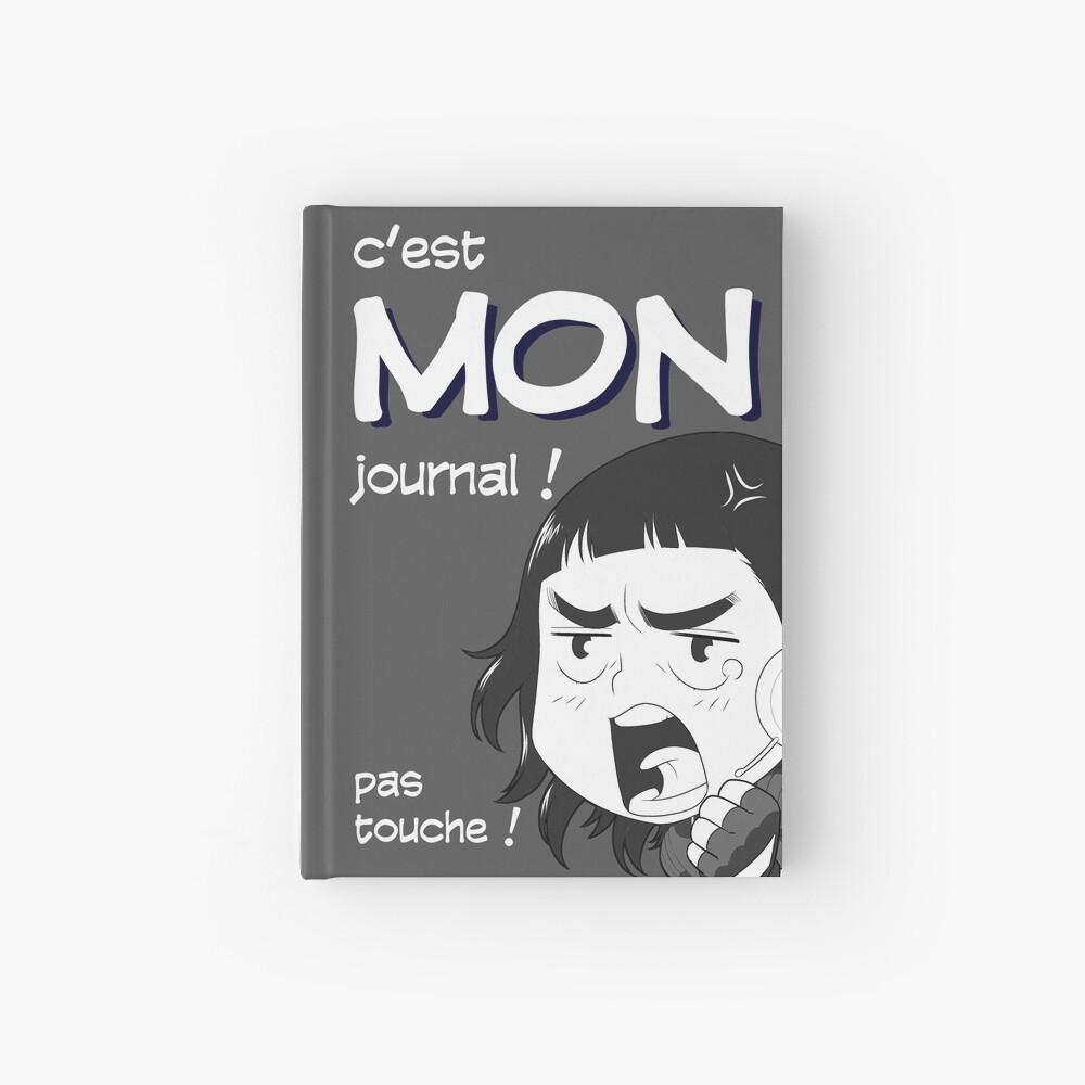 Carnet cartonné «8-OPTIONS.COM - FR - MON JOURNAL A5 - GRIS - 10 $ pour auteurs»