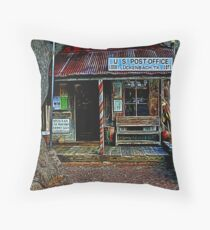 Luckenbach TX Painted Throw Pillow