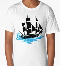 Sea Ship Long T-Shirt