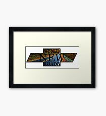 FIND NEW ROADS Framed Print
