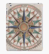 Historical Nautical Compass (1543)  iPad Case/Skin