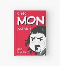 8-OPTIONS.COM - FR - MON JOURNAL A5 - ROUGE - 10 $ pour auteurs Carnet cartonné