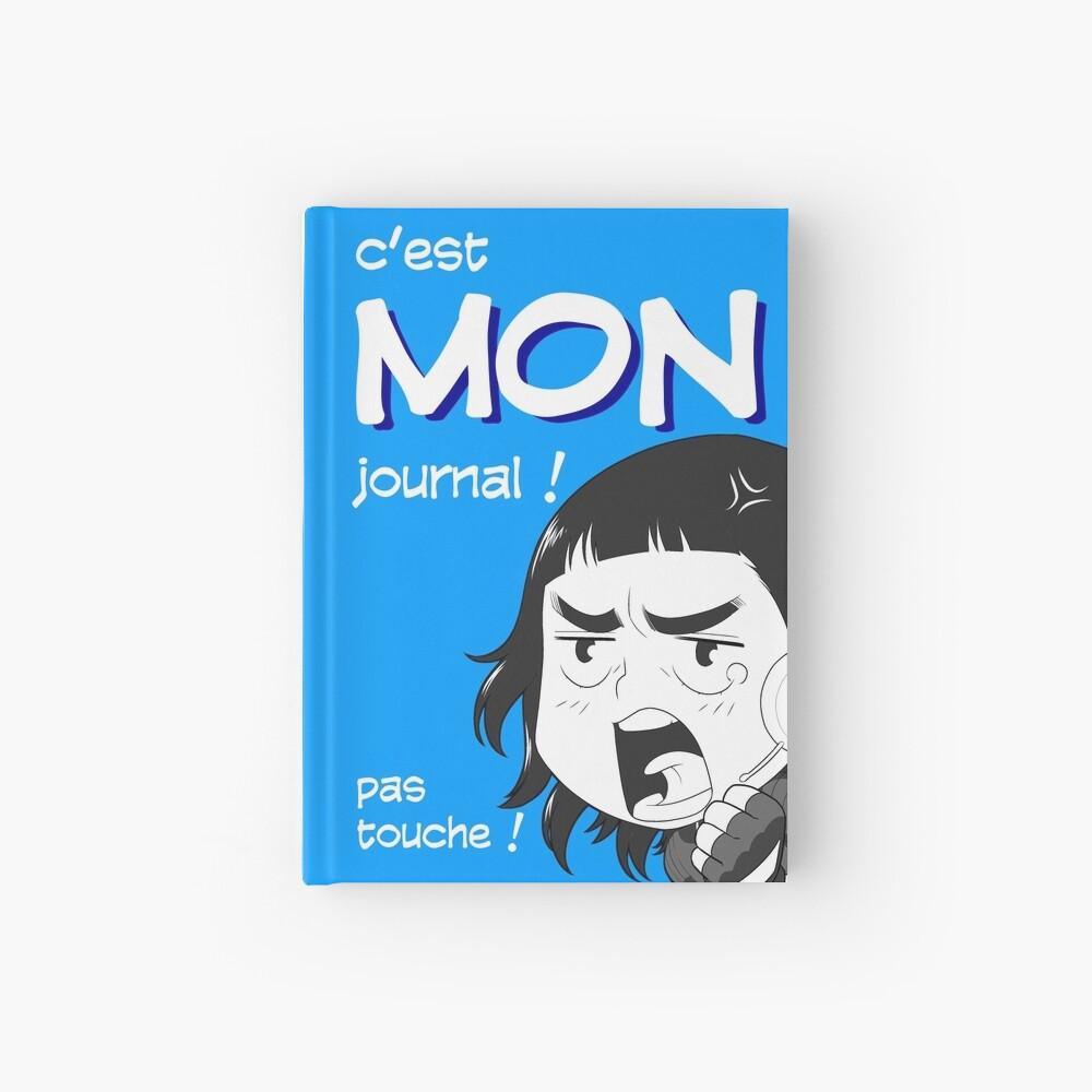 Carnet cartonné «8-OPTIONS.COM - FR - MON JOURNAL A5 - BLEU - 10 $ pour auteurs»