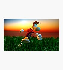 Rayman Photographic Print