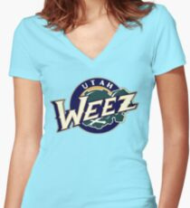 Utah Weez - Official Logo Women's Fitted V-Neck T-Shirt