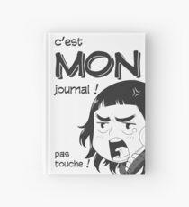 8-OPTIONS.COM - FR - MON JOURNAL A5 - BLANC - 10 $ pour auteurs Carnet cartonné