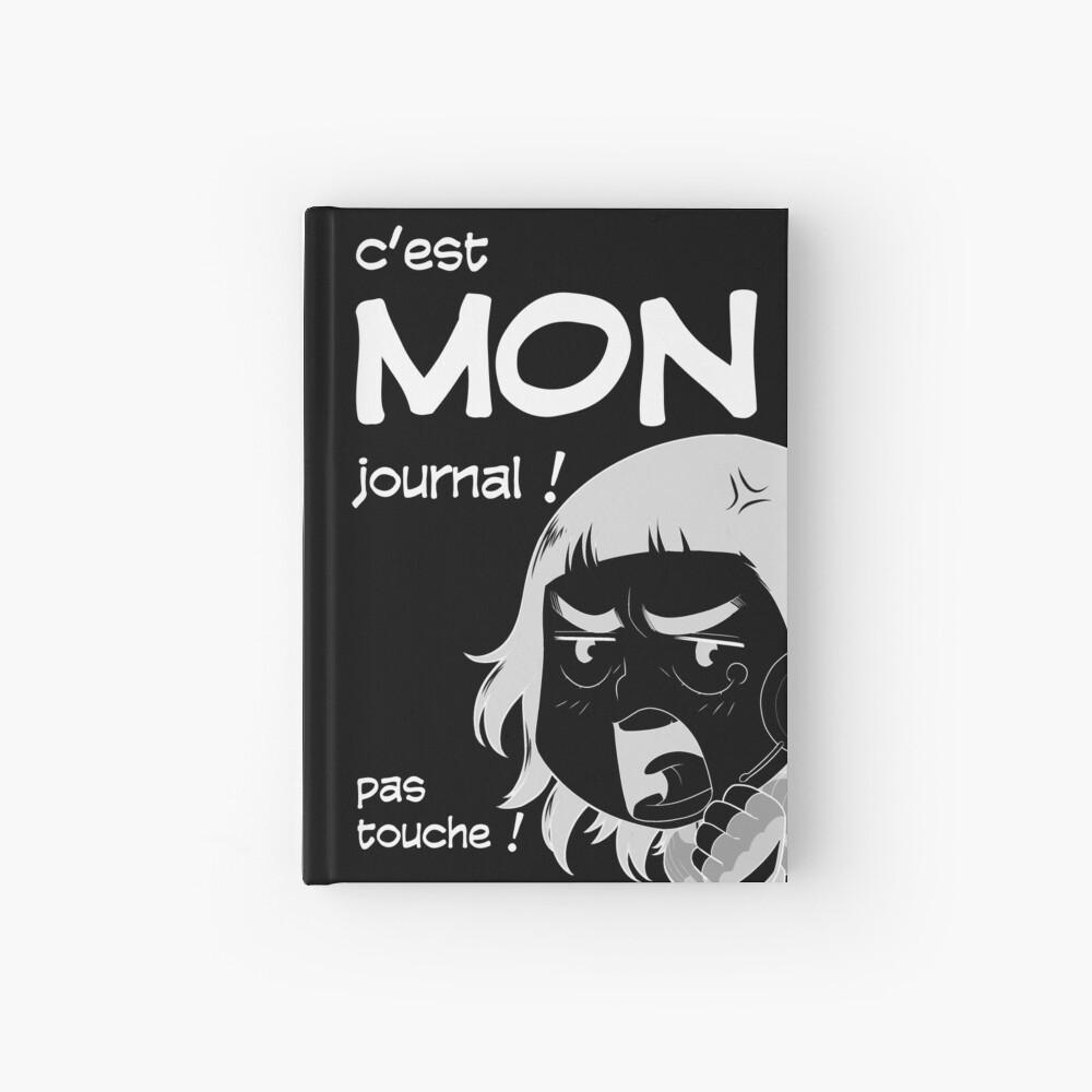Carnet cartonné «8-OPTIONS.COM - FR - MON JOURNAL A5 - NOIR - 10 $ pour auteurs»