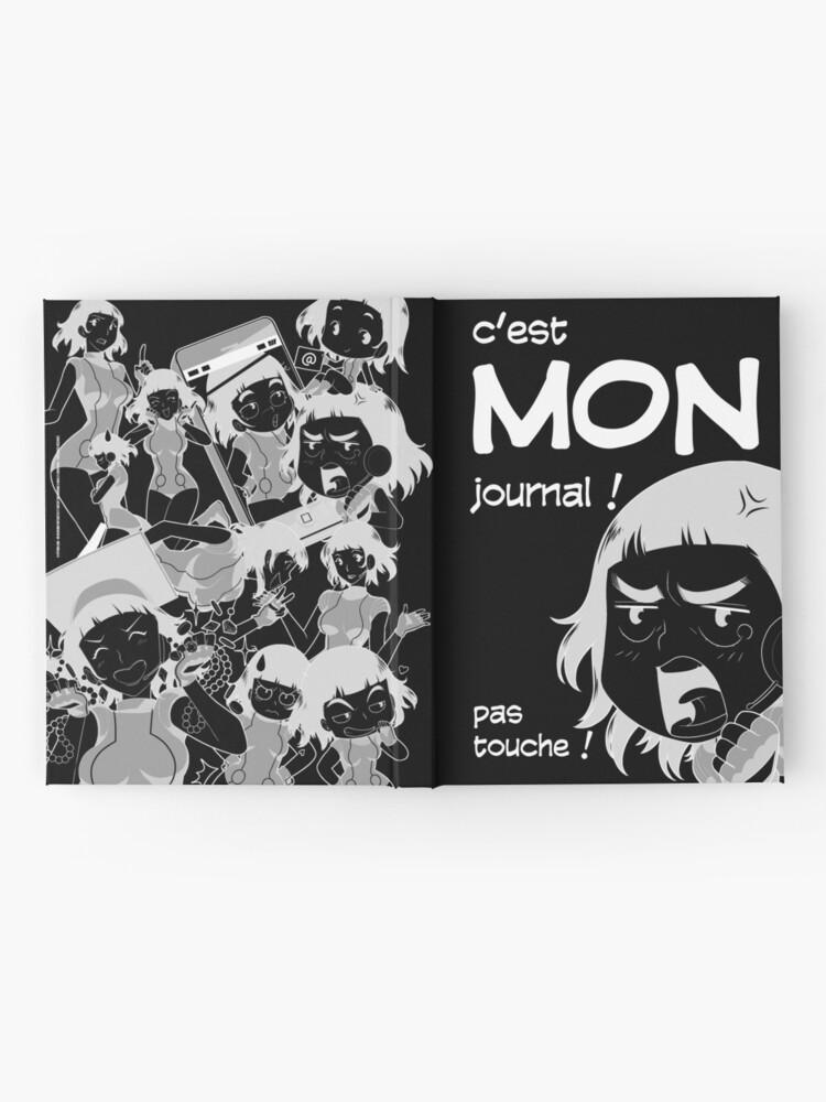 Carnet cartonné ''8-OPTIONS.COM - FR - MON JOURNAL A5 - NOIR - 10 $ pour auteurs': autre vue
