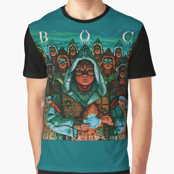 Blue Öyster Cult - Fire of Unknown Origin Graphic T-Shirt