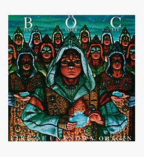 Blue Öyster Cult - Fire of Unknown Origin Photographic Print