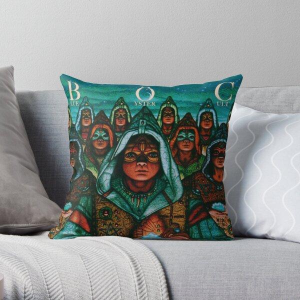 Blue Öyster Cult - Fire of Unknown Origin Throw Pillow