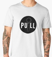 Pull Espresso - Black Circle Edition Men's Premium T-Shirt