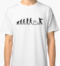 Human to Zombie Evolution Classic T-Shirt