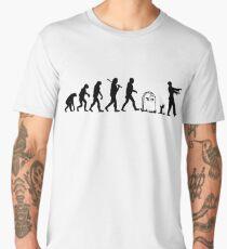 Human to Zombie Evolution Men's Premium T-Shirt