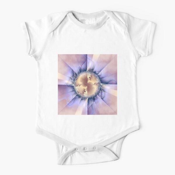 Dynamism Short Sleeve Baby One-Piece