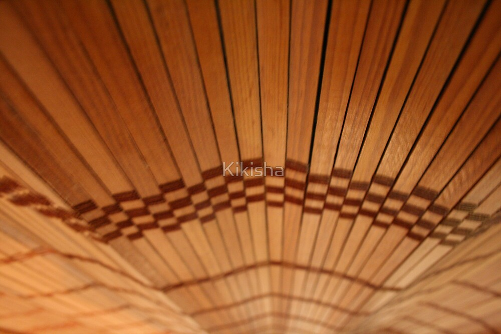 Bamboo blinds by Kikisha