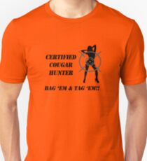 Certified Cougar Hunter T-Shirt