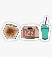 Taco Bell Trio Sticker