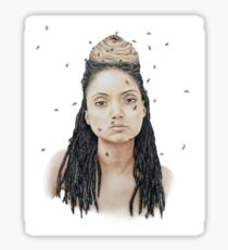 Queen of the Hive Sticker