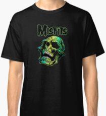 Horror Skull PUNK hardcore Classic T-Shirt