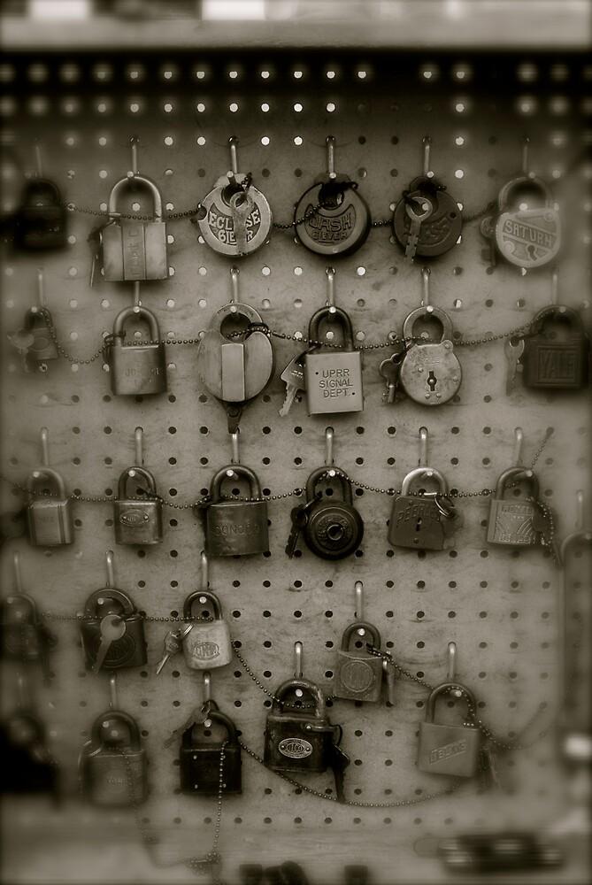 Locked Locks by Robert Baker