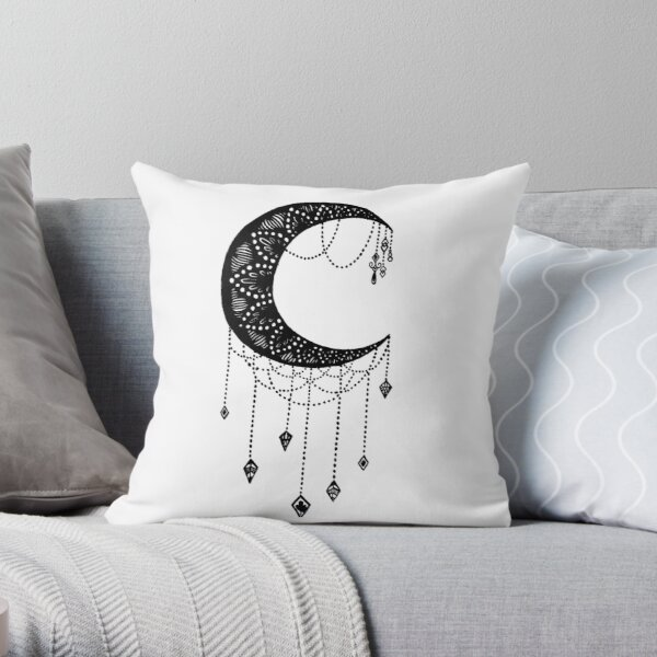 Crescent Moon Home Living Redbubble