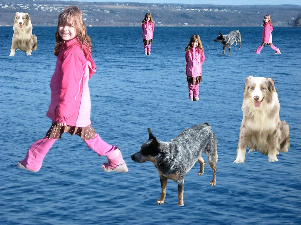 My Sister walks on water by bljaromin